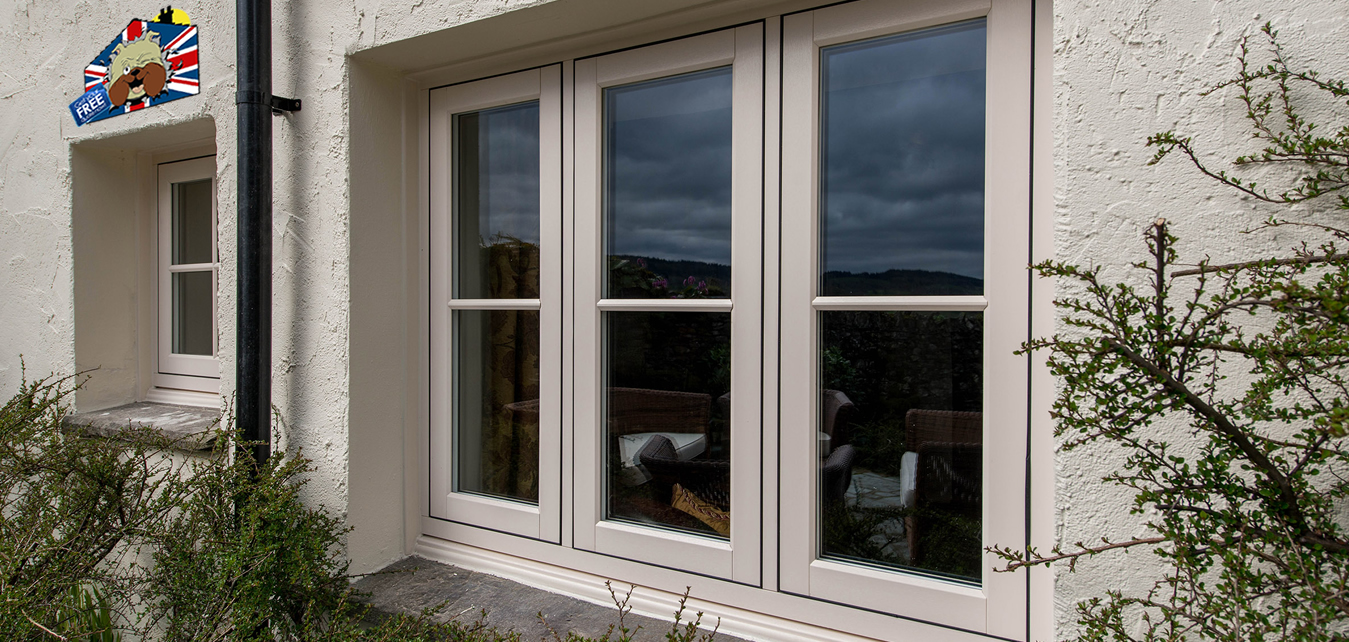 Choose from Timberlook Flush Sash, UPVC and Aluminium Windows