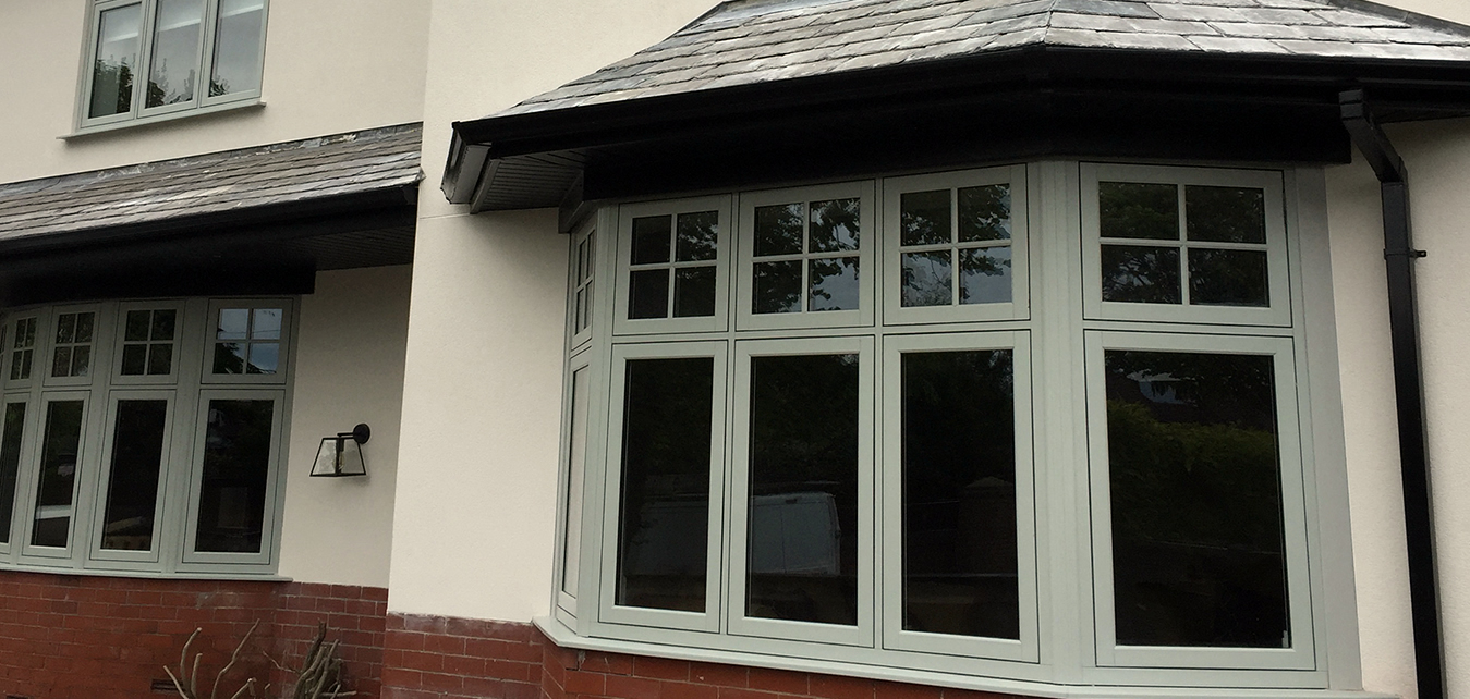 Casement window replacement timber look flush sash windows for Best value replacement windows